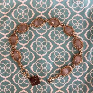 Kendra Scott Jana Bracelet Gold Abalone